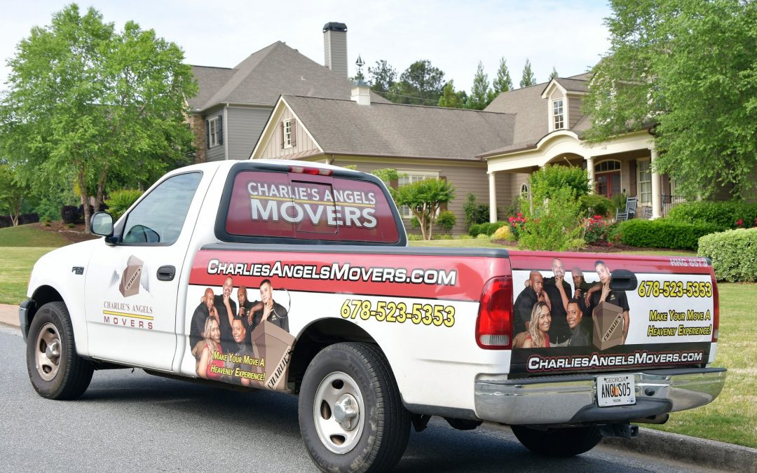 Charlie's Angels Movers will pack you AND unpack you and haul away all of the boxes