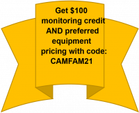 Get $100 monitoring credit